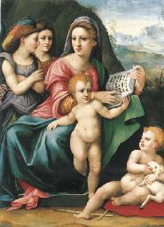 Madonna con Bambino, San Giova