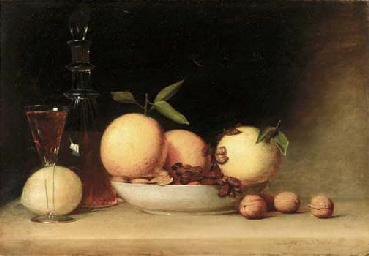 Still Life with Liqueur and Fr