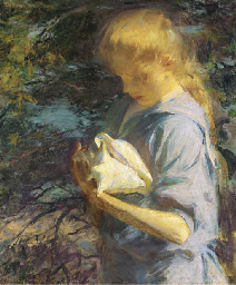 Eleanor Holding a Shell