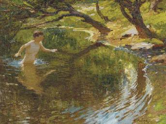 Bathing Boy