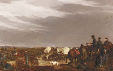 Dragoons Crossing River