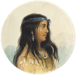A Young Woman of the Flat Head