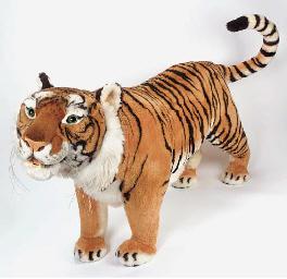 A modern Steiff Studio Tiger