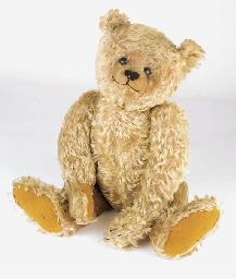 An unusual Steiff teddy bear