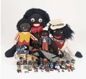 A collection of Golliwogs