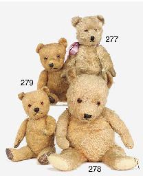 A pair of Chiltern teddy bears