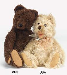 A Steiff Zotty teddy bear