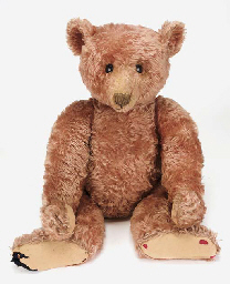 A large Steiff teddy bear