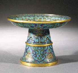 A cloisonne tazza 17th Century