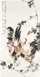 Zhang Shuqi, a hanging scroll