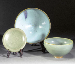A Junyao blue glazed deep bowl