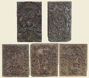 A set of three Netherlandish r