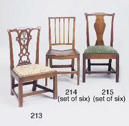 An elm low chair, Scottish, 19