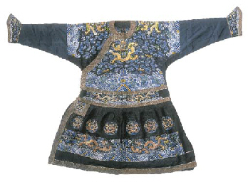 A formal court robe (chao'fu)