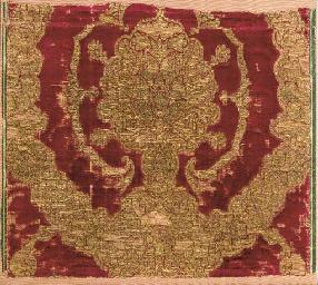 A fragment of red velvet in re