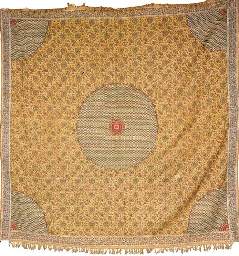 A 'Paisley' shawl, woven in co