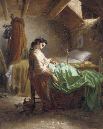 The sleeping seamstress