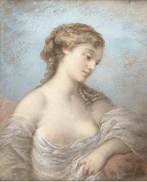 Portrait of an elegant beauty,