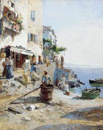 A sunny day on the Amalfi coas