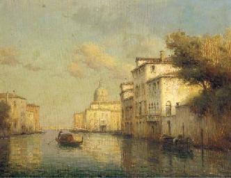 A canal, Venice