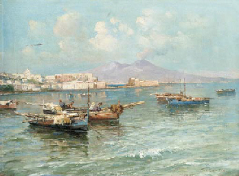 The coast of Capri; and Fisher