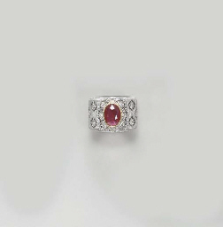 A RUBY RING, BY MARIO BUCCELLA