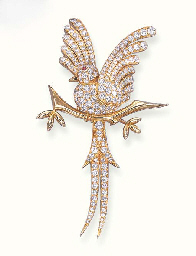 A DIAMOND BIRD OF PARADISE BRO
