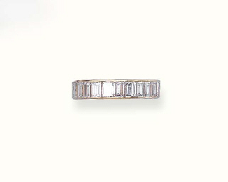 A DIAMOND ETERNITY BAND, BY VA
