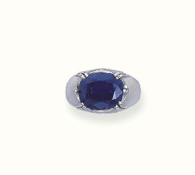 A SAPPHIRE RING, BY MOUAWAD
