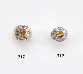 A GOLD, DIAMOND AND ORANGE SAP