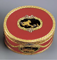 A LOUIS XV LACQUER AND VARI-CO