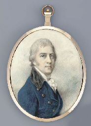 A young gentleman, facing righ