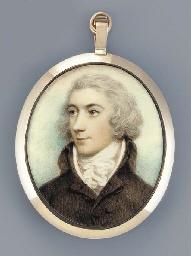 A young gentleman, facing left