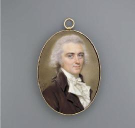 A superb miniature of Benjamin