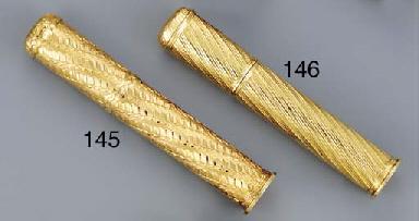 A LOUIS XV GOLD SEALING-WAX CA