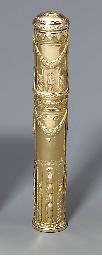 A LOUIS XVI TWO-COLOUR GOLD SE