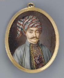 An Oriental gentleman, facing