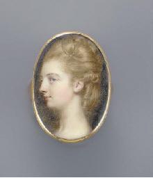 Viscountess Gormanston, facing