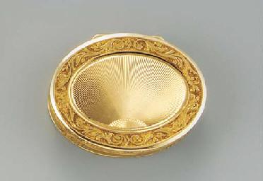 A Continental gold vinaigrette
