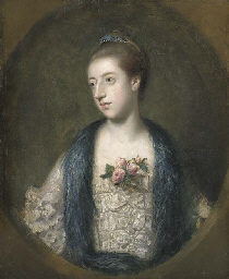 Portrait of Miss Mary Powis, a