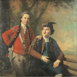 Double portrait of General Ric