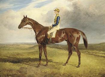 James Goater on Sultan, winner
