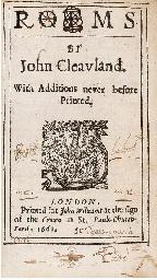 CLEVELAND, John (1613-58).  Po