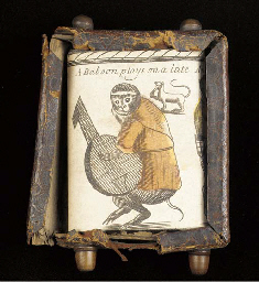 SCROLL -- An engraved scroll w