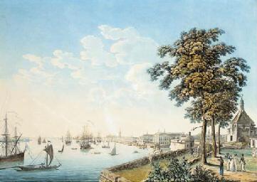 Vue de la Ville de Bordeaux