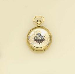 A 19th century gold, enamel an