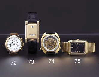 Piaget. A large and heavy 18K
