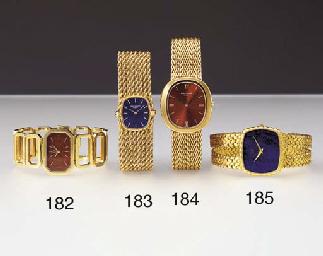 Piaget. An unusual 18K gold cu
