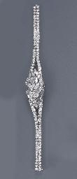 A DIAMOND BRACELET WATCH, BY G