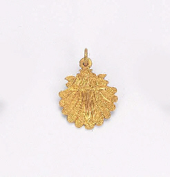 A SPANISH GOLD BADGE OF THE OR